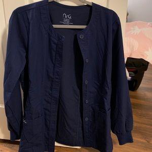 NRG by barco scrub jacket